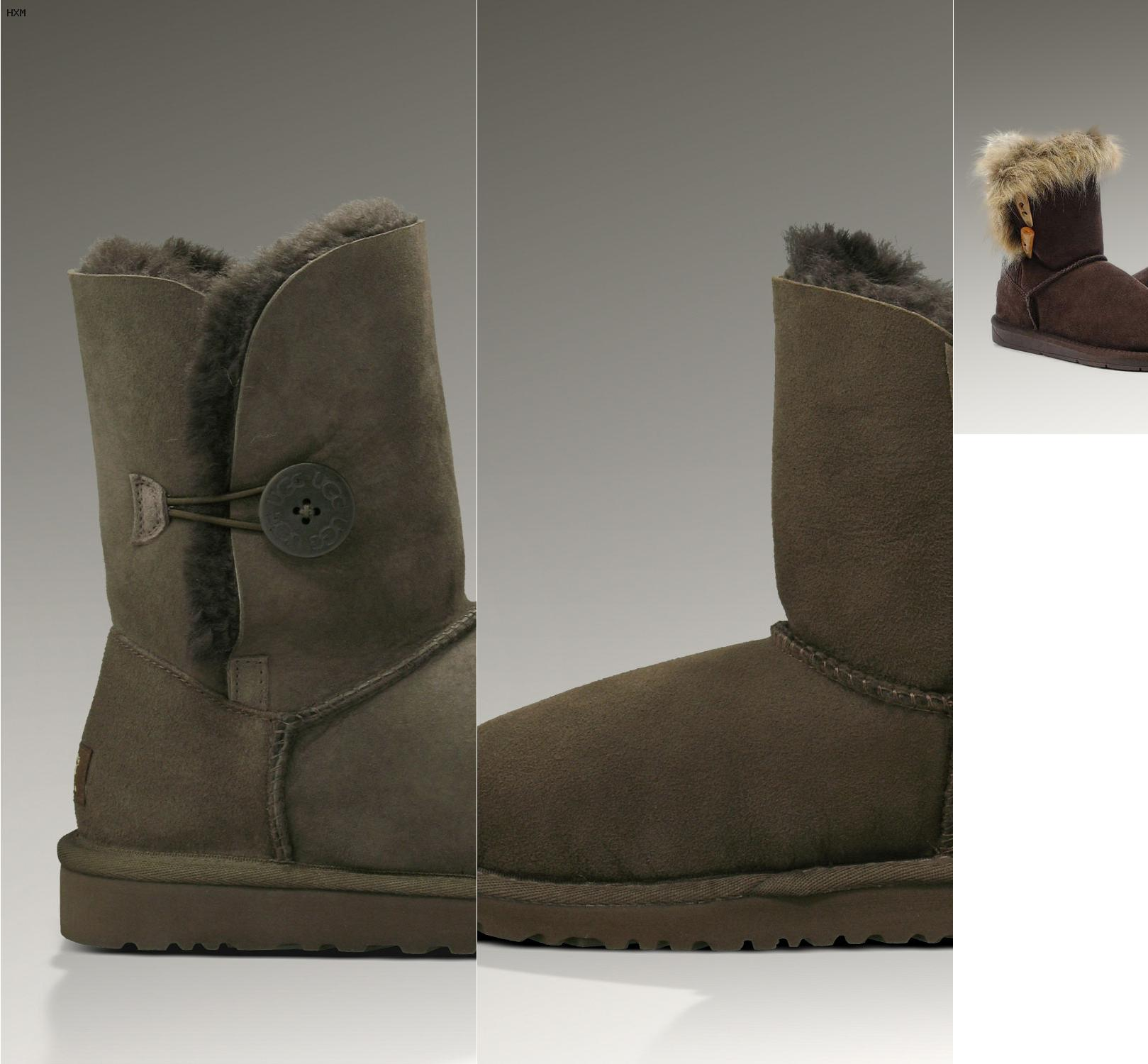 ugg classic mini leather lichtgrijs leer