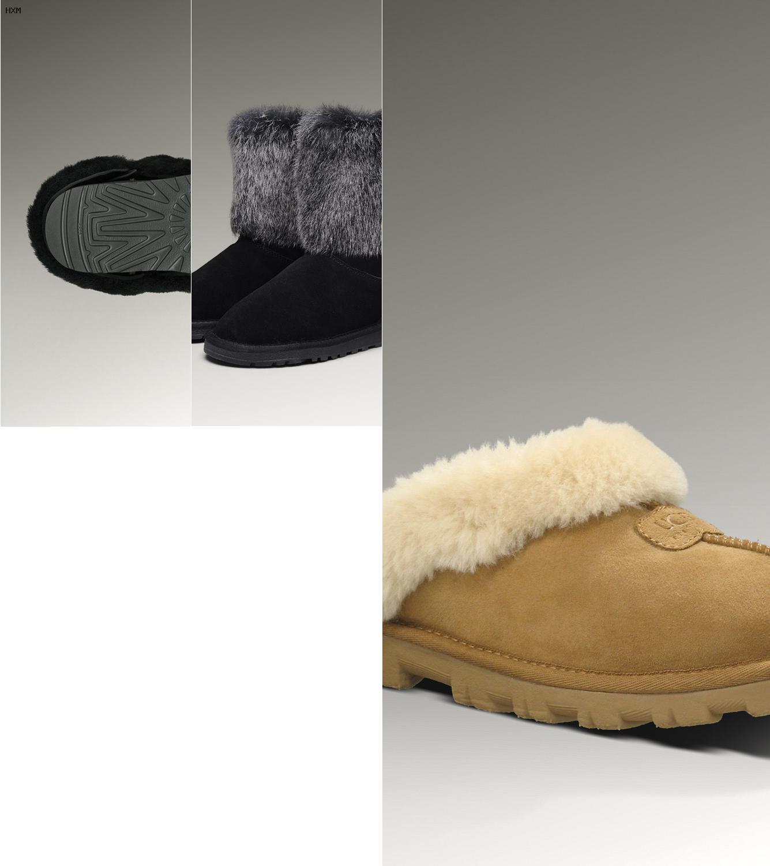 ugg fox fur mini chestnut boots